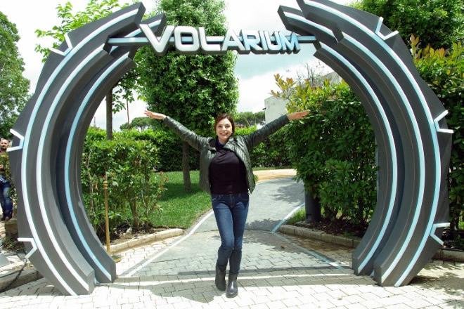 Elena Russo a Cinecittà World per Volarium