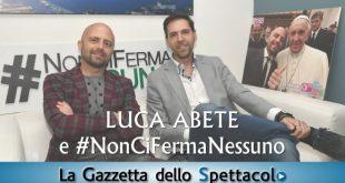 Francesco Russo incontra Luca Abete per parlare di NonCiFermaNessuno. Foto di Roberto Jandoli