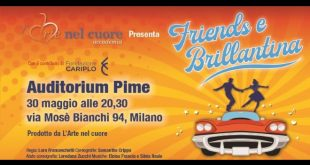 Friends e Brillantina conduce Enzo Iacchetti