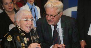 Giancarlo Giannini e Lina Wertmuller al Premio Kinèo