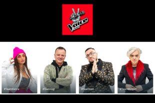 Il team giudici di The Voice of Italy. Foto da sito ufficiale