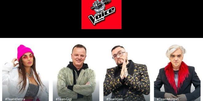 The Voice of Italy, le squadre sono al completo