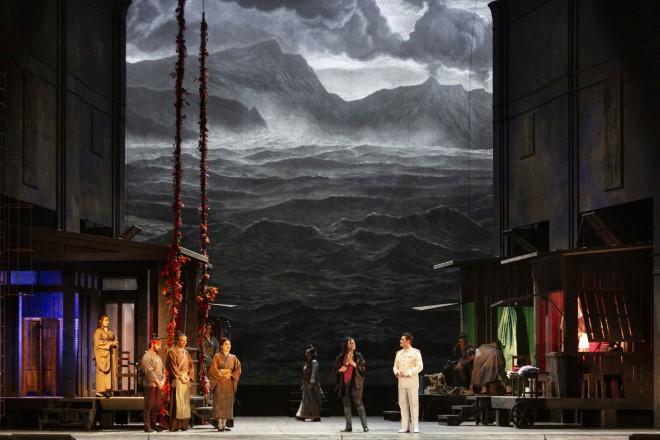 Madama Butterfly al Teatro San Carlo. Foto di Luciano Romano