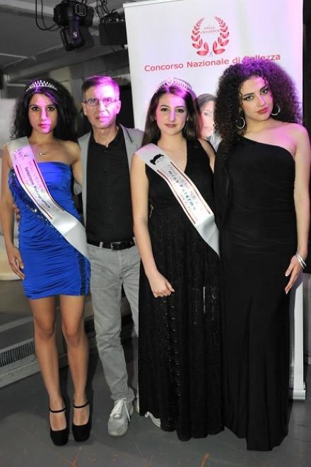 Manuela Parrinello, Fabrizio Dia, Asia Cipriano, Sofia Bianchi per Miss Venere 2019