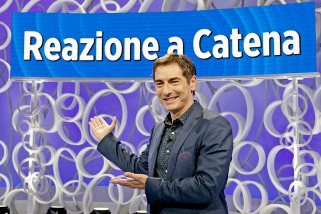 Marco Liorni per Reazione a Catena. Foto di Giancarlo Cantone