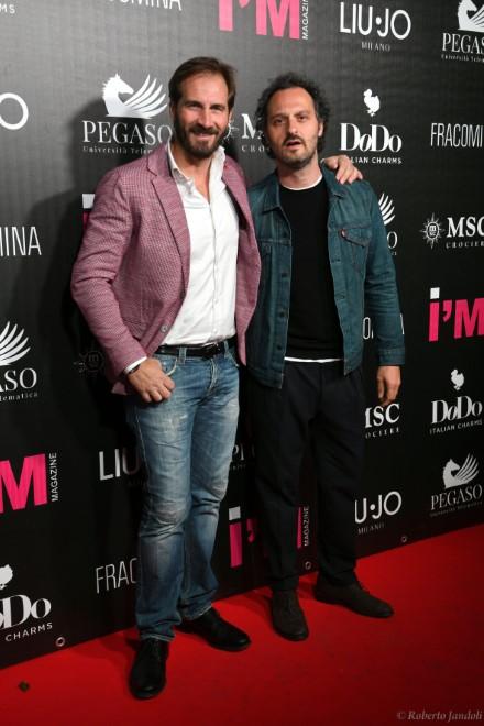 Maurizio Aiello con Fabio Troiano