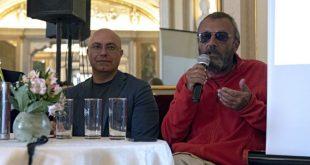 Onofrio Piccolo e Daniele Sepe annunciano la carta bianca 2019 di Pomigliano Jazz. Foto di Titti Fabozzi
