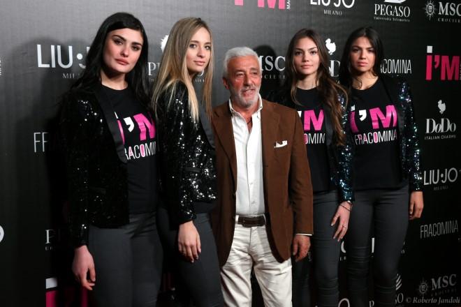 Patrizio Rispo e le I'M Magazine girl