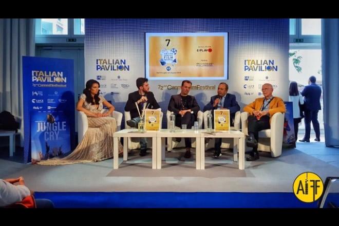 Presentazione Ariano International Film Festival a Cannes 2019