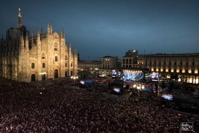 Radio Italia Live a Piazza Duomo - Milano