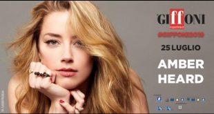 Amber Heard a Giffoni 2019. Foto di Flavien Prioreau