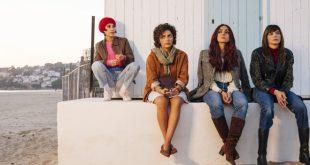 Ambra Angiolini, Ilenia Pastorelli, Serena Rossi e Silvia D'Amico in Brave Ragazze