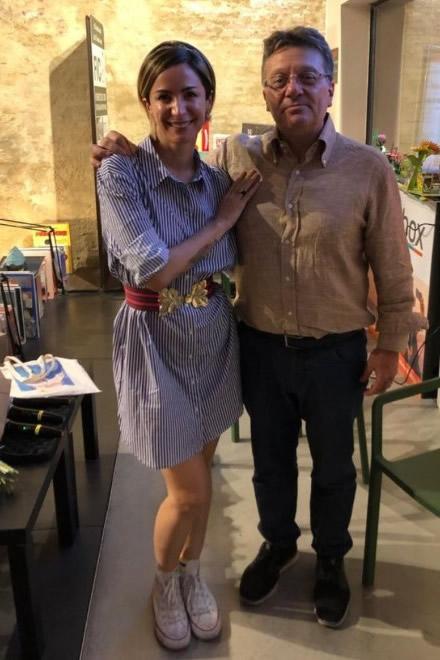 Andrea Delogu e Sergio Messina, Presidente di Associazione Italiana Dislessia