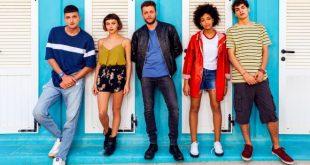 Il cast di Summertime - Netflix