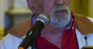 Il maestro Bruno Lanza. Foto di Antonio Iorio - Una lacrima sul riso 2016