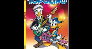 Liga Duck - Ligabue sulla copertina di Topolino