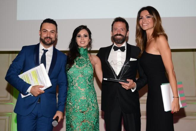 Sebastiano Lombardi Anthony Peth Canzian Alessia Ventura per Galà Premio Eccellenze