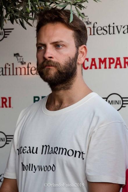 Alessandro Borghi ad Ischia Film Festival. Foto di Orlando Faiola