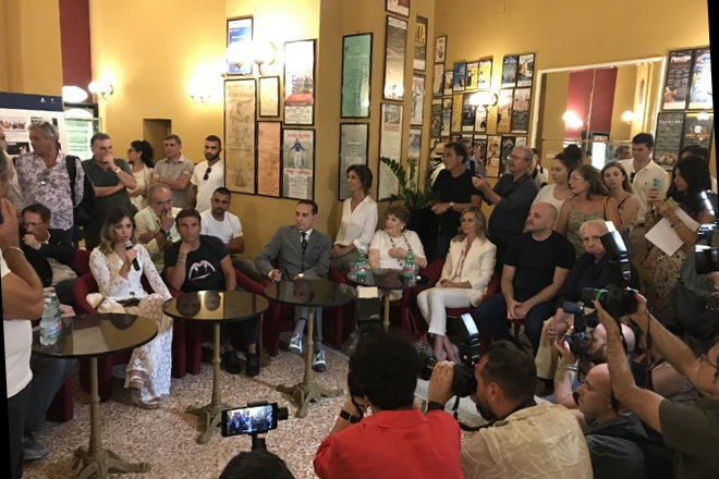 Conferenza Stampa Teatro Augusteo 2019-20