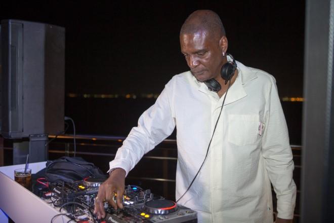 DJ Kenny Carpenter al party di 3D Magazine