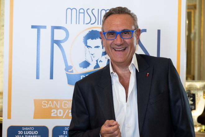 Gino Rivieccio, direttore artistico del XIX Premio Massimo Troisi. Foto di Alessandro Solimene