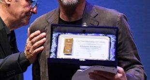 Giorgio Tirabassi con La pellicola d'oro 2019