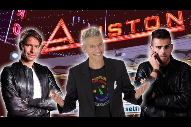 Giovanni Vernia, Edoardo Mecca e Walter Rolfo per Ariston Comic Selfie 4a. Foto da Facebook