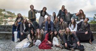 Il cast di Capri Revolution di Mario Martone