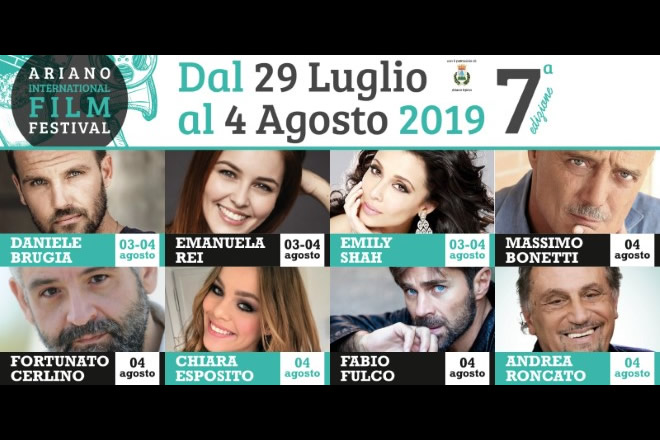 Il programma della 7a edizione di Ariano International Film Festival