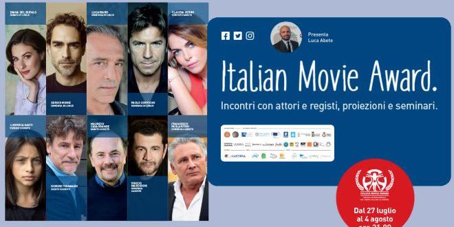 Italian Movie Award 2019, grandi nomi per questa edizione