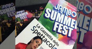 La Gazzetta dello Spettacolo per Jambo Summer Fest 2019