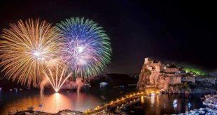 La festa di Sant'Anna 2018 con i fuochi d'artificio. Foto dal web