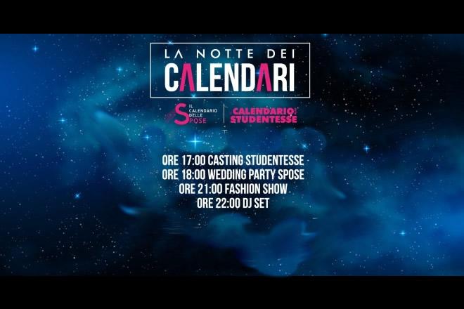 La notte dei calendari 2019