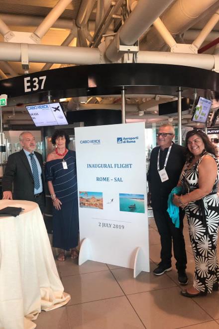 Presentazione di Cabo Verde Airlines per il Senegal