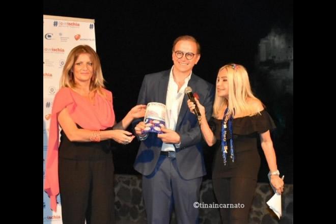Silvio Smeraglia premiato per I Love Ischia 2019