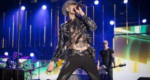 Achille Lauro ai Music Awards. Foto di Pamela Rovaris