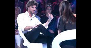 Andrea Damante si racconta a Silvia Toffanin a Verissimo