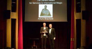 Arturo Brachetti premiato al The Magic Circle di Londra