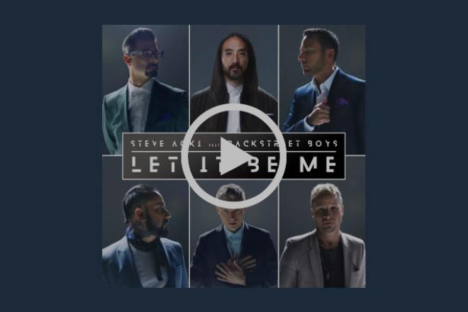 Backstreet Boys con Steve Aoki
