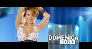 Barbara d'Urso conduce Domenica Live