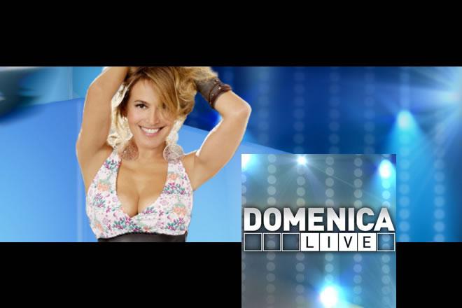 Barbara d'Urso conduce Domenica Live