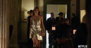 Benedetta Porcaroli in un frame del trailer di Baby 2 by Netflix
