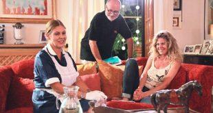 Carla Dujany, Pierfrancesco Campanella ed Elisabetta Pellini sul set di L'idea malvagia