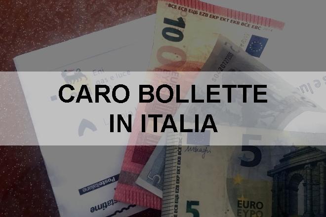 Caro Bollette in Italia
