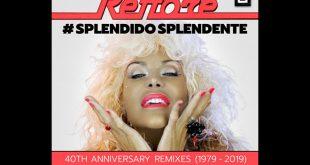 Cover Splendido Splendente di Donatella Rettore