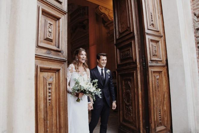 Cristina Chiabotto e Marco Roscio sposi