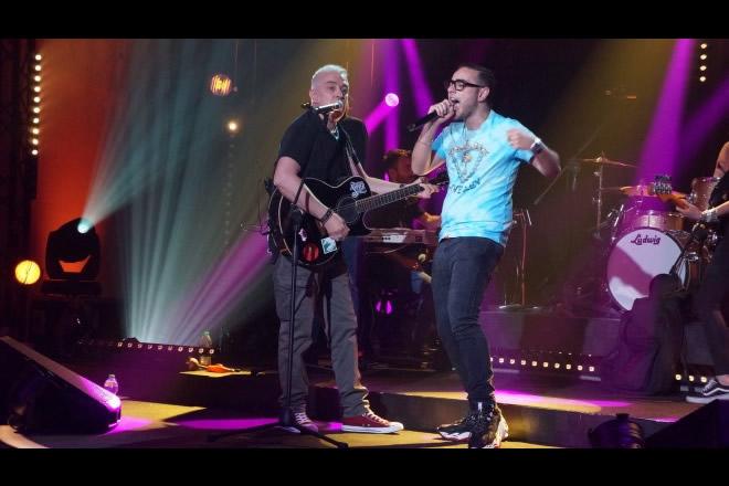 Davide Van De Sfroos e Rocco Hunt a Un palco per Due su Rai 2