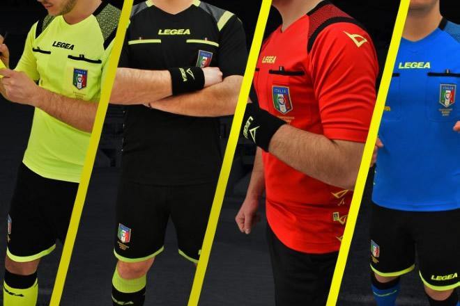 Divise 2019 per l'Associazione Italiana Arbitri della F.I.G.C.