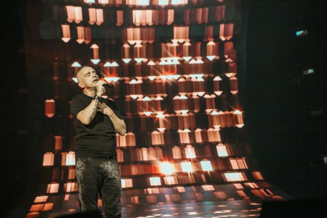 Eros Ramazzotti live. Foto da Ufficio Stampa