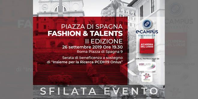 Fashion e Talents a Piazza di Spagna